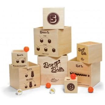 Gra zręcznościowa Box'N Balls od 5 lat, Fat Brain Toys