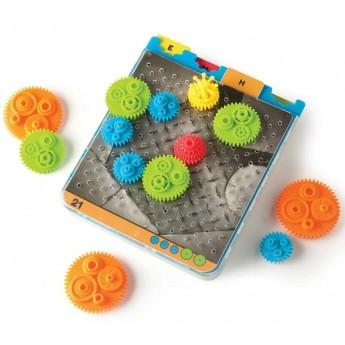CranKity Koła zębate, łamigłówki od 6 lat, Fat Brain Toys