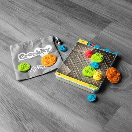 CranKity Koła zębate, łamigłówki od 6 lat, Fat Brain Toy