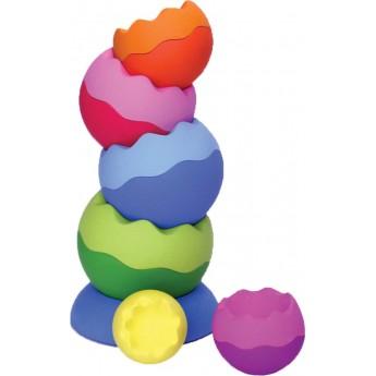 Tobbles Neo wieża kulek dla niemowląt, Fat Brain Toys