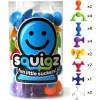 Klocki przyssawki Squigz 24 sztuk 8 kolorów, Fat Brain Toy