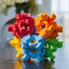 Reptangles puzzle 3D 24 sztuki 80 możliwości, Fat Brain Toys