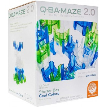 Kulodrom Q-Na-Maze niebieski 50 elementów od 5 lat, MindWare