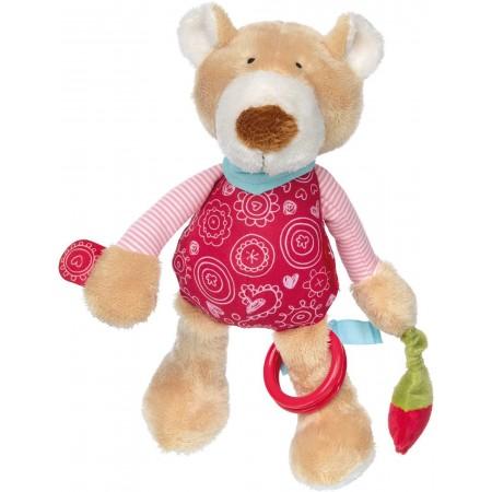Edukacyjna zabawka pluszowa Miś Bellarella dla niemowląt, Sigikid