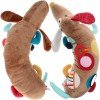 Sigikid pies edukacyjny zabawka dla niemowląt - widok od góry i od dołu