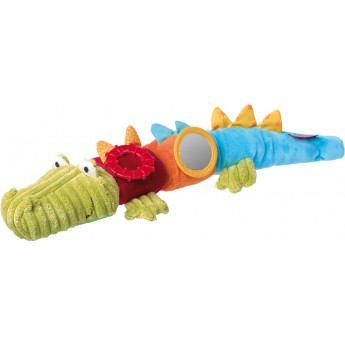 Krokodyl zabawka pluszowa sensoryczna od 3 mc, Sigikid