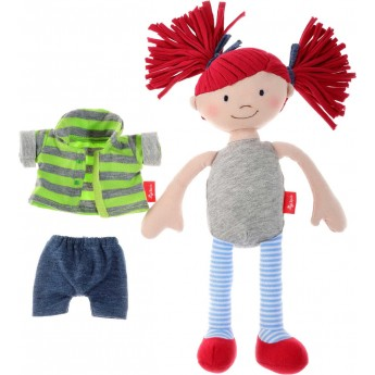 Lalka szmaciana dla niemowląt Czerwone Kucyki, Sigikid