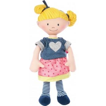 Lalka szmaciana dla niemowląt od 6mc Blondynka, Sigikid