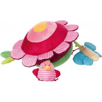 Piłka sensoryczna Kwiat PlayQ od urodzenia, Sigikid