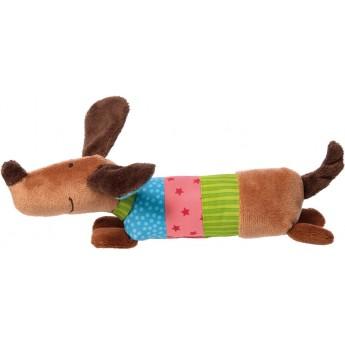 Piszczałka Kolorowy Piesek PlayQ dla niemowląt, Sigikid