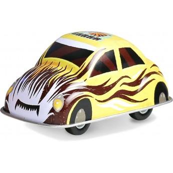 Żółte autko z napędem zabawka metalowa od 3 lat, Vilac