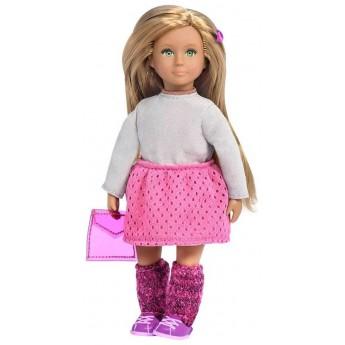 Lalka dla dziewczynki Gemma blondynka ze spódnicą, Lori