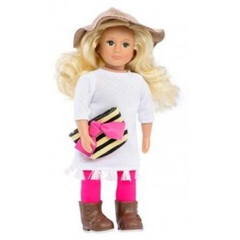Lalka dla dziewczynki Breanna blondynka z kapeluszem, Lori