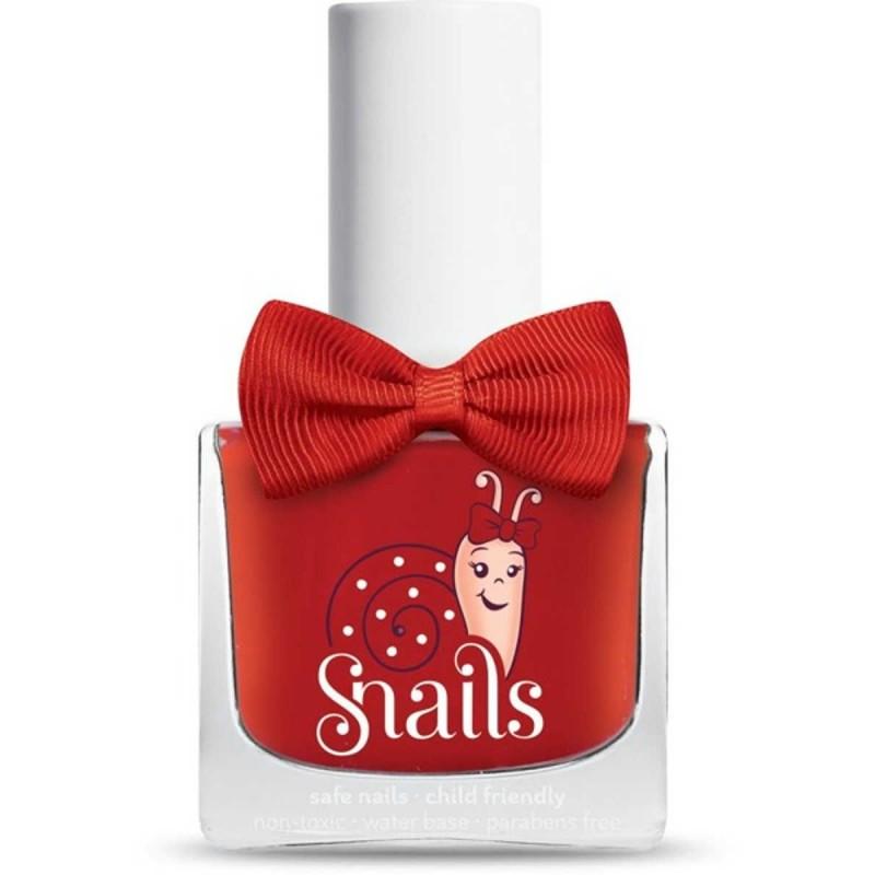 Snails czerwony lakier do paznokci dla dzieci Ladybird