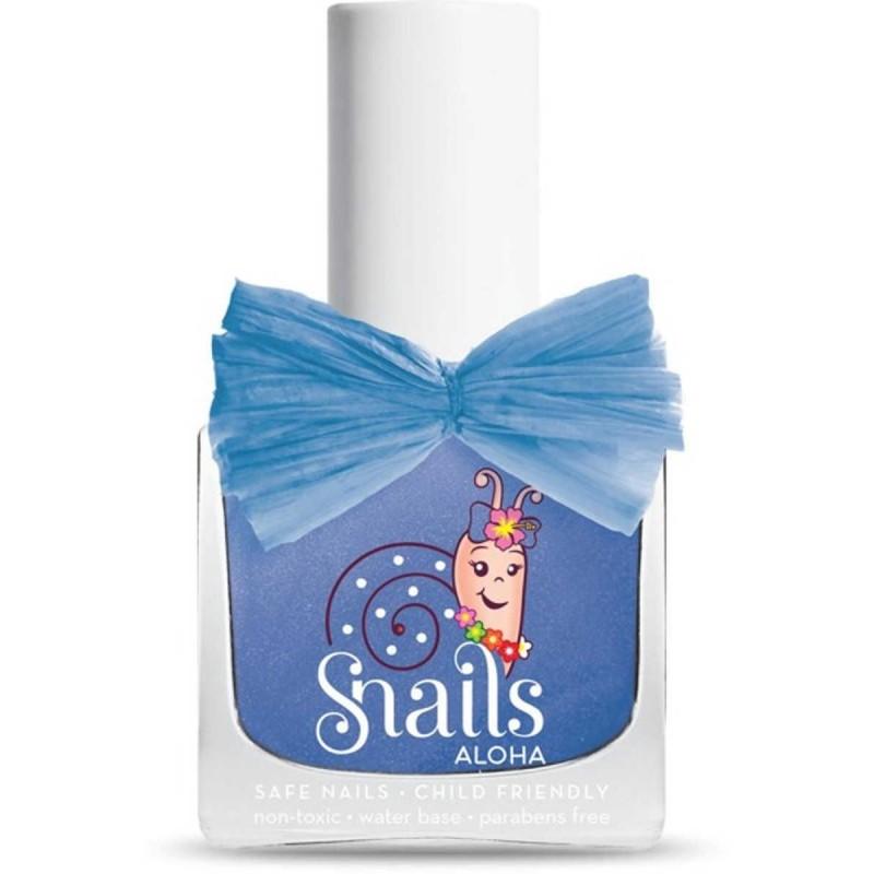 Snails niebieski lakier do paznokci Aloha Waves +3 lat