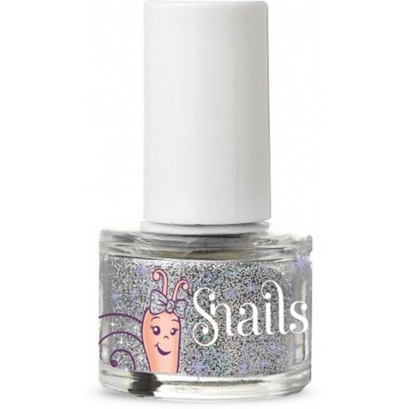 Brokat do paznokci Snails Silver Glitter, Snails