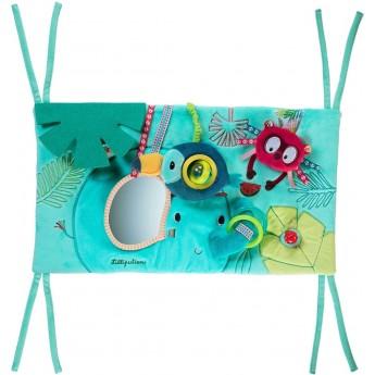 Zabawka interaktywna do łóżeczka Dżungla, Lilliputiens