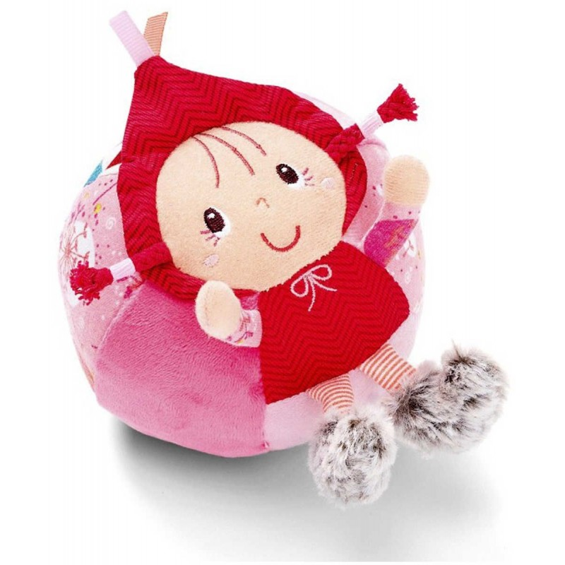 Lilliputiens Piłka z dzwonkiem dla niemowląt Czerwony Kapturek