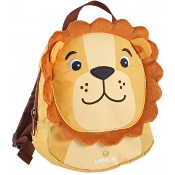 Plecaczek Littlelife Lew ze smyczą dla rocznego dziecka