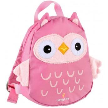 Plecaczek Littlelife Sowa ze smyczą dla dziecka od 12mc