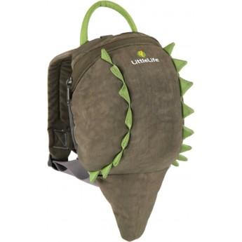 Plecaczek Littlelife Krokodyl ze smyczą dla dziecka