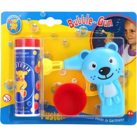 Pistolet do robienia baniek Kot Bubble-Gun Pustefix zabawka +4