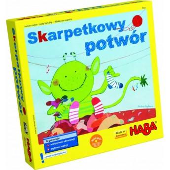 Haba Gra Skarpetkowy potwór (po polsku) od 4 lat