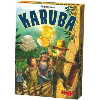 Haba gra planszowa kafelkowa Karuba dla dzieci od 8 lat