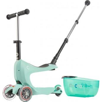 Mini2go Mint Deluxe jeździk i hulajnoga z siedziskiem