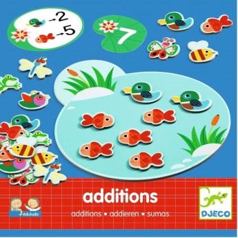 Djeco Gra edukacyjna do nauki dodawania Edulodo +4lat