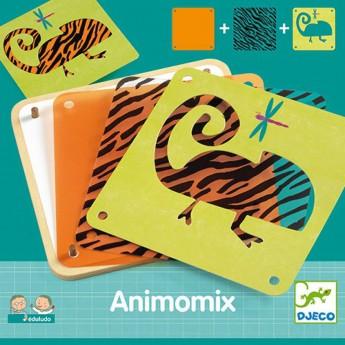 Djeco Gra edukacyjna ze zwierzętami Edulodo Animomix