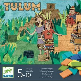 Djeco Gra planszowa strategiczna Tulum dla 5 latków