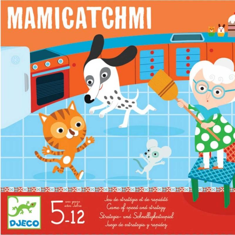 Djeco Gra planszowa strategii i szybkości MamiCatchMi