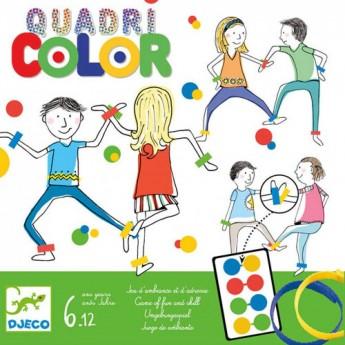 Djeco Gra towarzyska i zręcznościowa od 6 lat Quadricolor