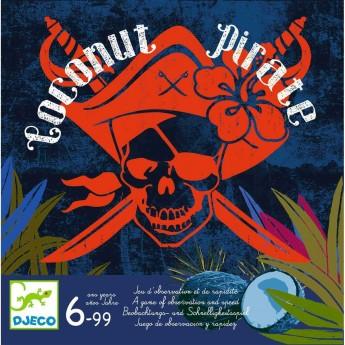 Djeco Gra obserwacji i szybkości od 6 lat Coconut Pirate