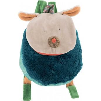 Moulin Roty pluszowy plecaczek Piesek dla małych dzieci