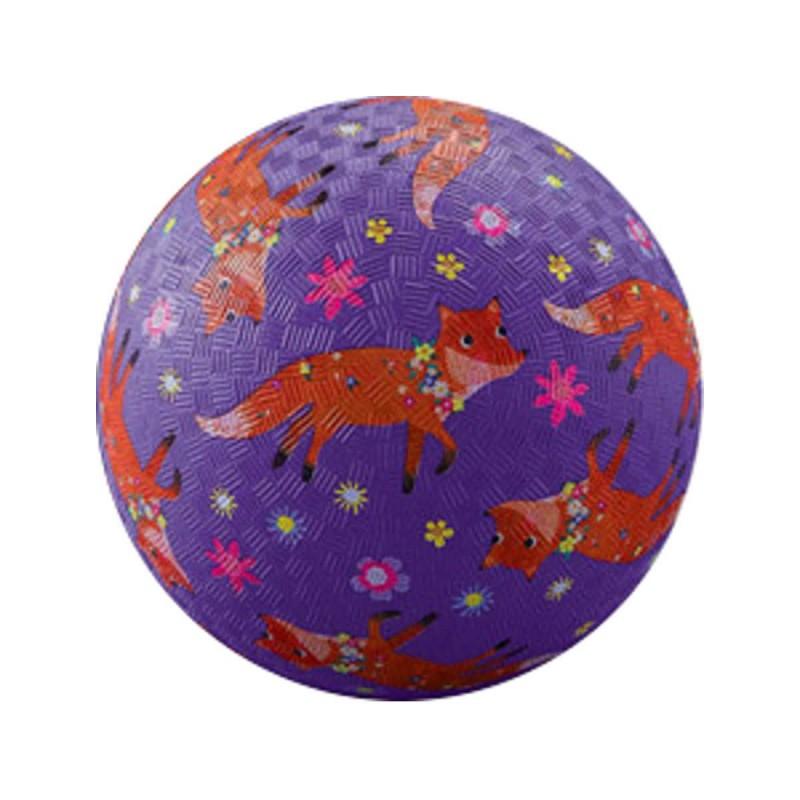 Piłka gumowa dla dzieci 18cm Liski, Crocodile Creek