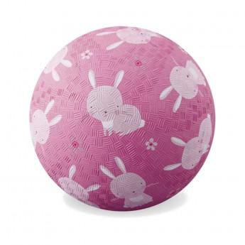 Piłka gumowa dla dzieci 18cm Króliki, Crocodile Creek