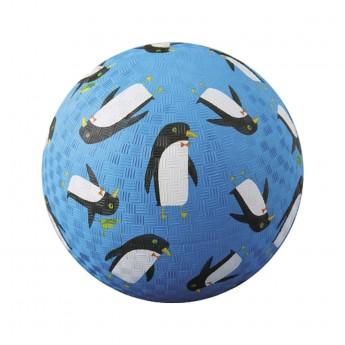 Piłka gumowa dla dzieci 18cm Pingwiny, Crocodile Creek