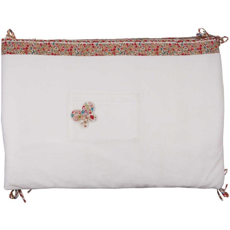 Ochraniacz na szczebelki do łóżeczka Kwiaty, Trousselier