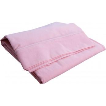 Poszewka na poduszkę 40x60cm różowa 100% bawełna, Poyet