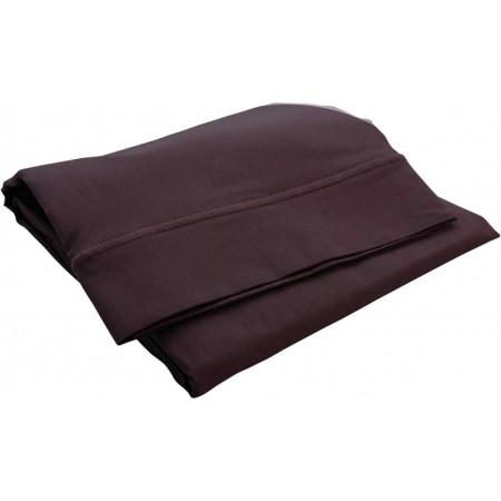 Poszewka na poduszkę 40x60cm czekolada, Doux Nid