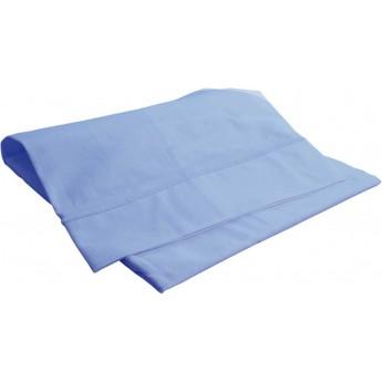 Poszewka na poduszkę 40x60cm błękitna 100% bawełna, Doux Nid