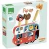 Vilac Bus pop-up ze skaczącymi zwierzętami +18mc by I.P.Arrhenius