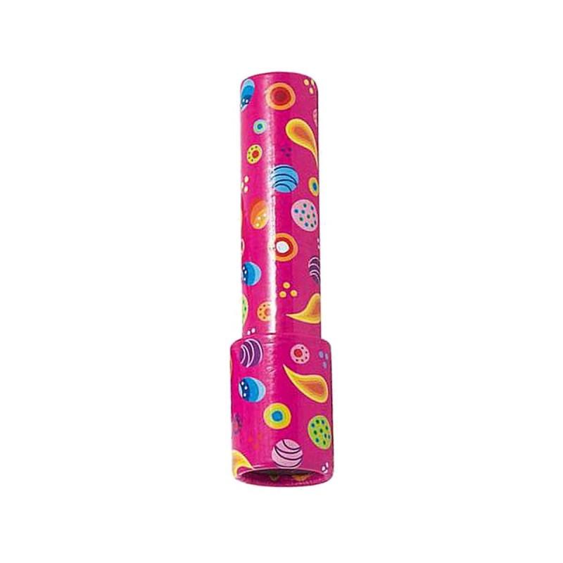 Kalejdoskop różowy kartonowy 15 cm dla dzieci od 3 lat, Goki
