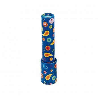 Kalejdoskop niebieski kartonowy 15 cm dla dzieci od 3 lat, Goki