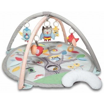 Skip Hop mata edukacyjna Treetop Grey/Pastel z pałąkiem