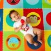 Skip Hop Mata piankowa dwustronna duża Zoo dla dzieci