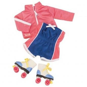 Ubrania dla lalek zestaw Chic Skate, Our Generation