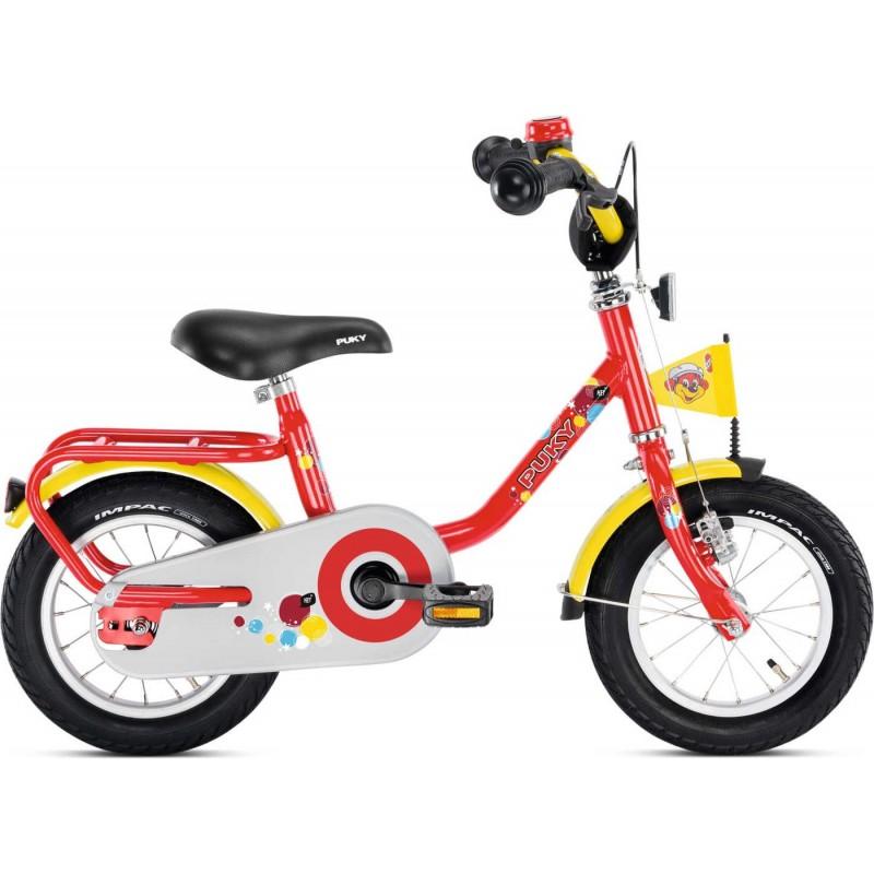 Puky Z 2 czerwony rower dziecięcy 12 cali od 3 lat